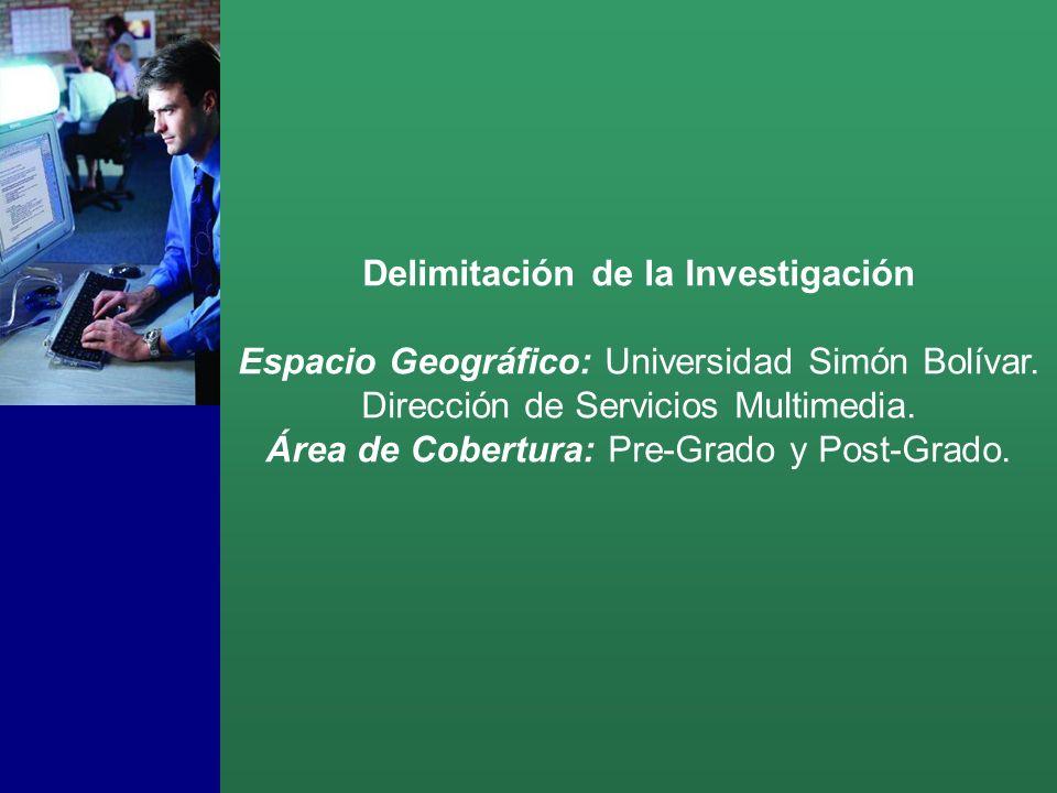 Delimitación de la Investigación Espacio Geográfico: Universidad Simón Bolívar.