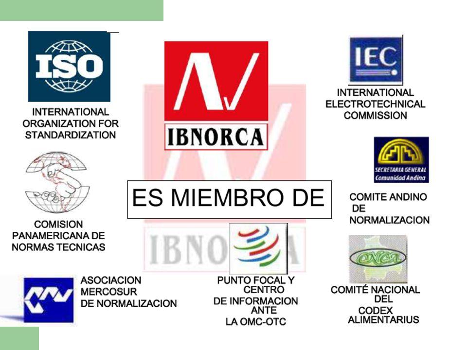 MISIÓN Y VISIÓN MISION: IBNORCA -Es una entidad que suministra servicios en normalización, formación y evaluación de la conformidad, confiables, eficaces y eficientes.