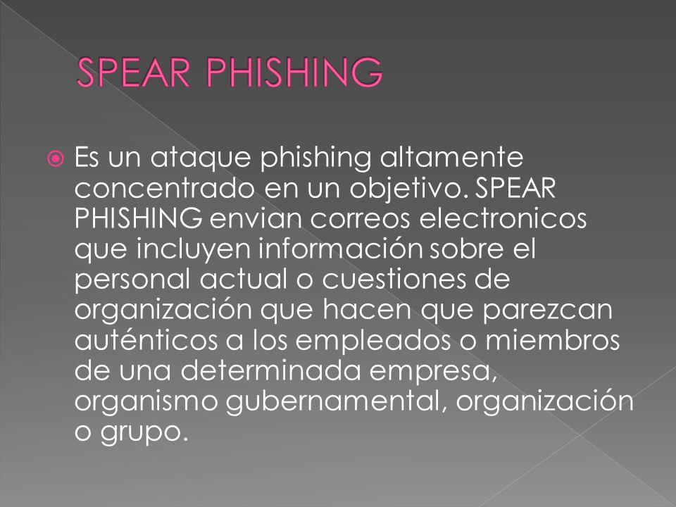 Es un nueva forma de phishing esta sustituye una pagina web por un numero telefonico en el cual te indica que llames a un especifico numero telefonico.