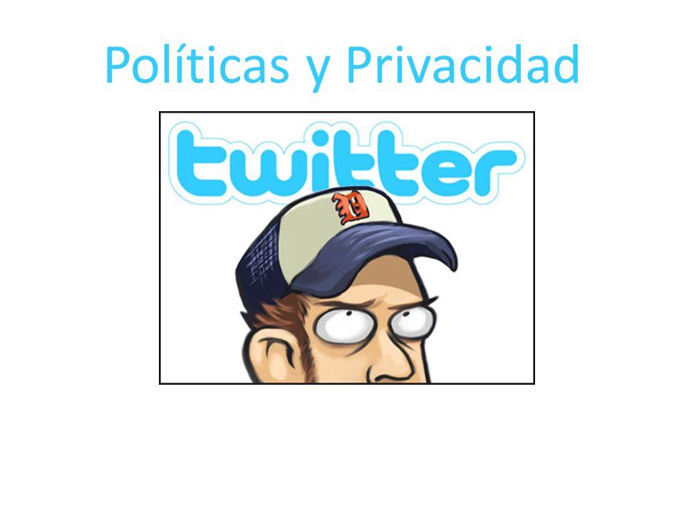 Políticas y Privacidad