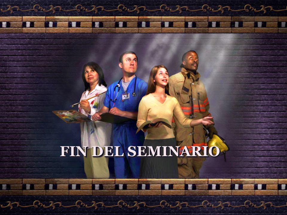 FIN DEL SEMINARIO FIN DEL SEMINARIO