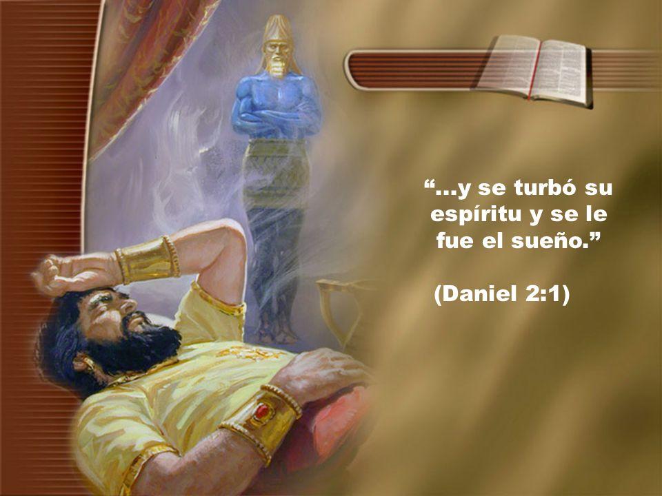 ...y se turbó su espíritu y se le fue el sueño. (Daniel 2:1)