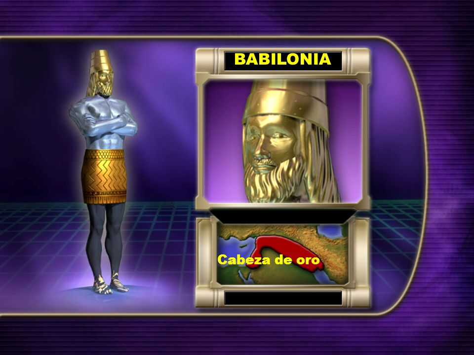 BABILONIA Cabeza de oro