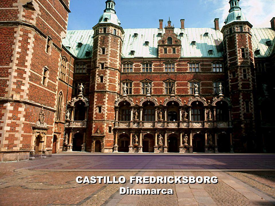 CASTILLO FREDRICKSBORG Dinamarca CASTILLO FREDRICKSBORG Dinamarca