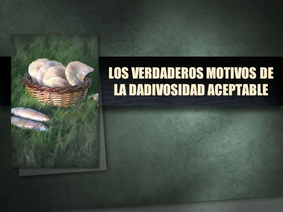 LOS VERDADEROS MOTIVOS DE LA DADIVOSIDAD ACEPTABLE
