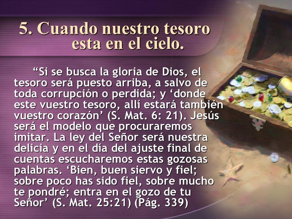 6.Un espíritu de servicio desinteresado fortalece la unidad de la iglesia.