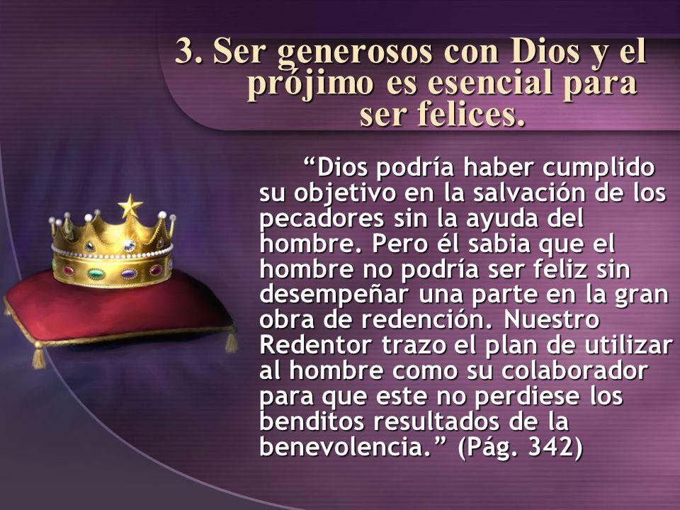4.Dios promete destruir el poder de las cosas terrenales.