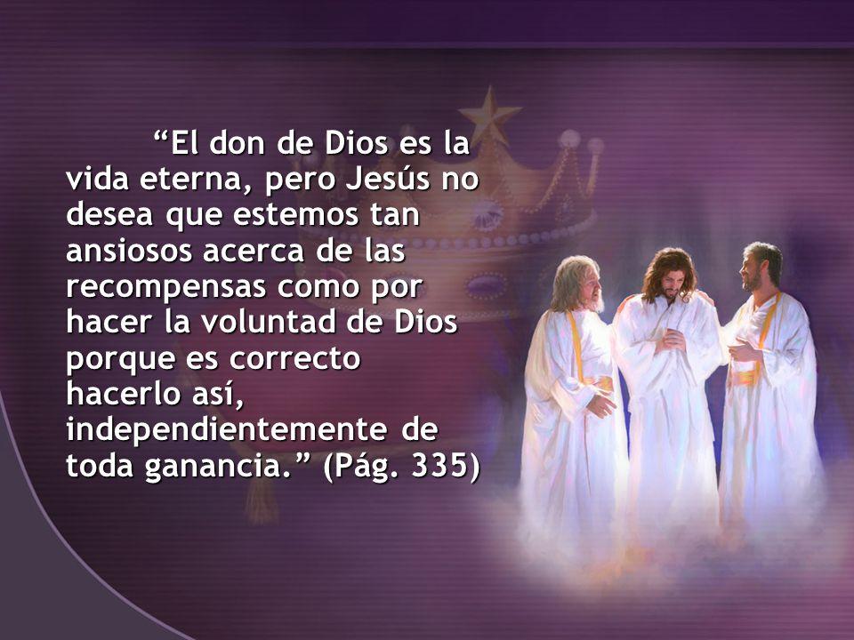 3.Cristo ha prometido una maravillosa recompensa.