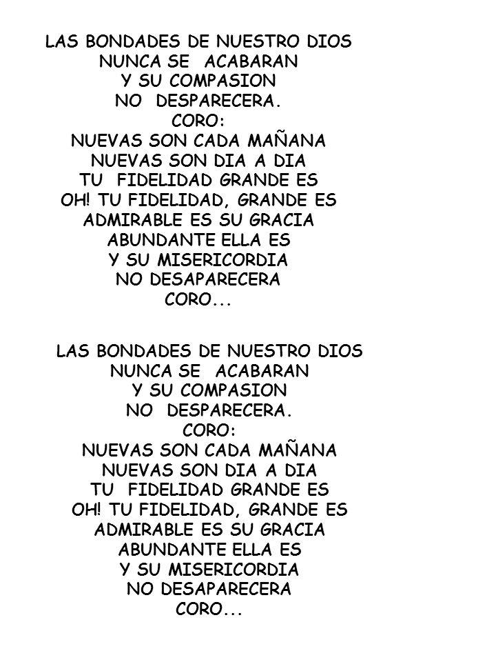 LEVANTAMOS TU NOMBRE TE CANTAMOS ALABANZA ME GOZARE EN TU PRESENCIA, ME GOZARE EN TU SALVACION// VINO DEL CIELO AL MUNDO PARA MOSTRAR LA SENDA DEL MUNDO A LA CRUZ PARA PAGAR MIS DEUDAS DE LA CRUZ A LA TUMBA DE LA TUMBA AL CIELO LEVANTAMOS TU NOMBRE