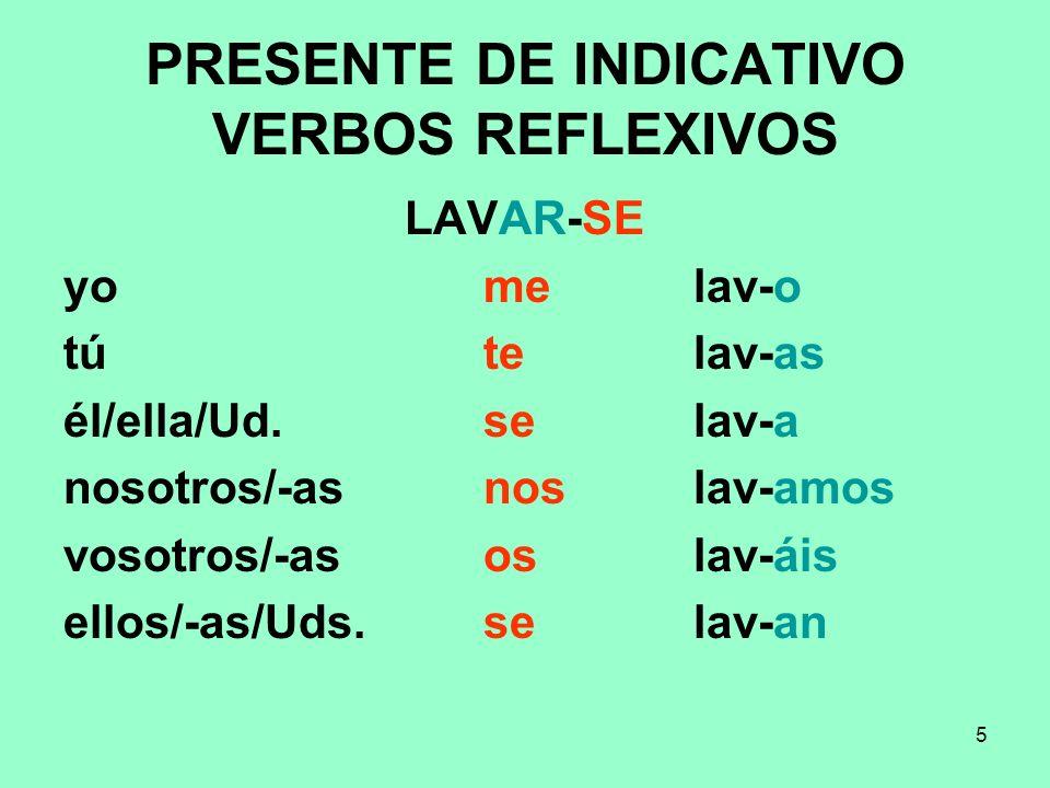 16 Notas El verbo elegir además de cambiar E > I, en la I persona de singular cambia la G > J yo elijo El verbo seguir además de cambiar E > I, en la I persona de singular cambia la GU > G yo sigo