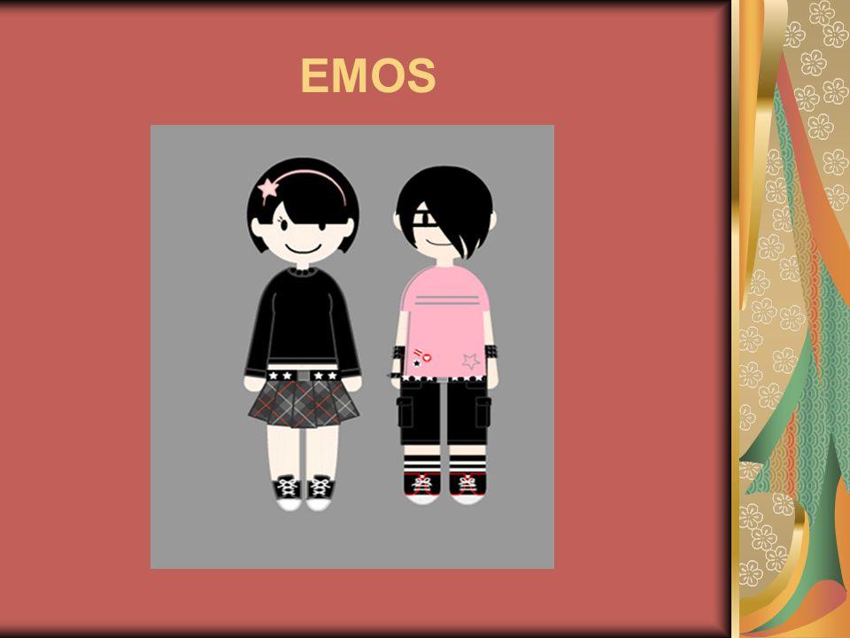Origen El término emo proviene de emotional (emocional) y tiene origen en los movimientos musicales hardcore y punk de los años 80
