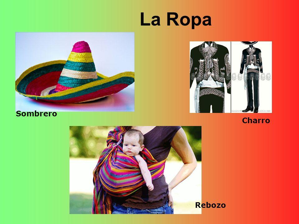 La Ropa Sombrero Rebozo Charro