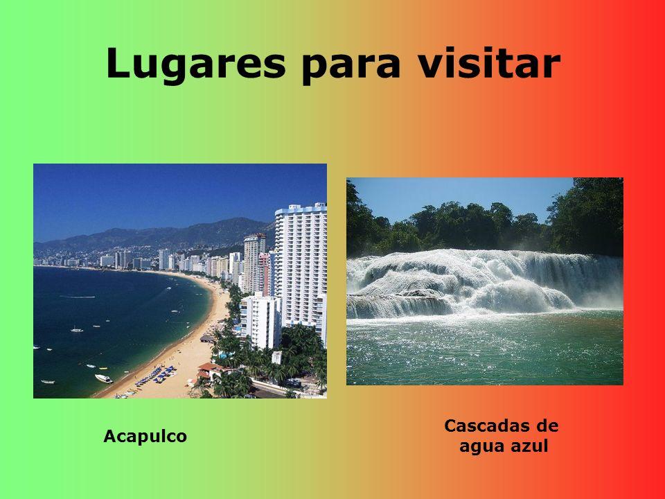 Lugares para visitar Acapulco Cascadas de agua azul