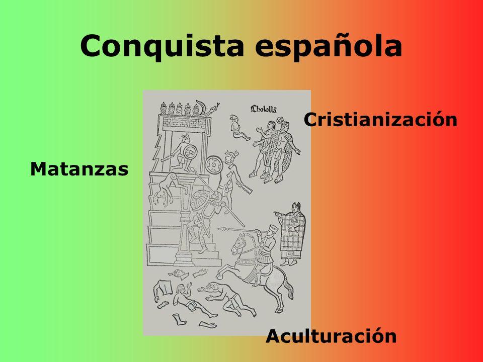 Conquista española Matanzas Cristianización Aculturación