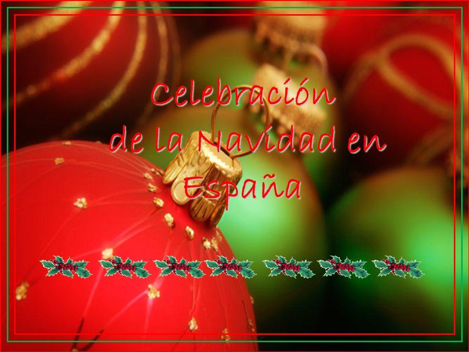 Celebración de la Navidad en España de la Navidad en España
