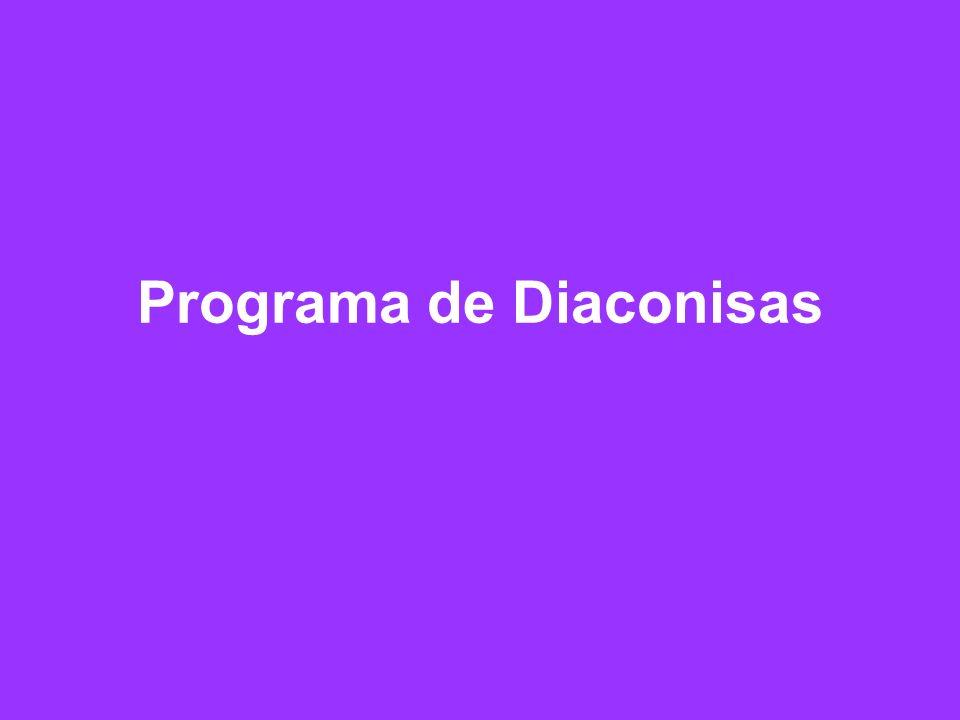 Programa de Diaconisas