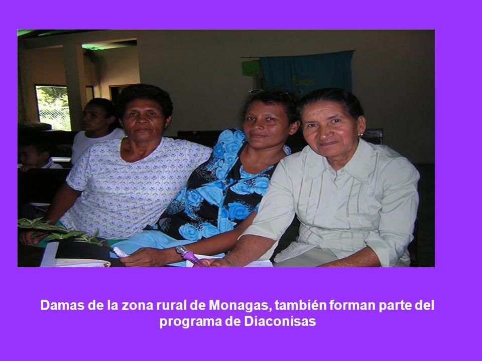 Damas de la zona rural de Monagas, también forman parte del programa de Diaconisas