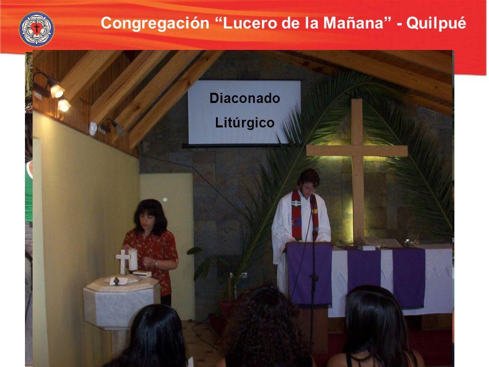 Congregación Lucero de la Mañana - Quilpué Cena pascual Escuela bíblica Show de títeres Diaconado Litúrgico