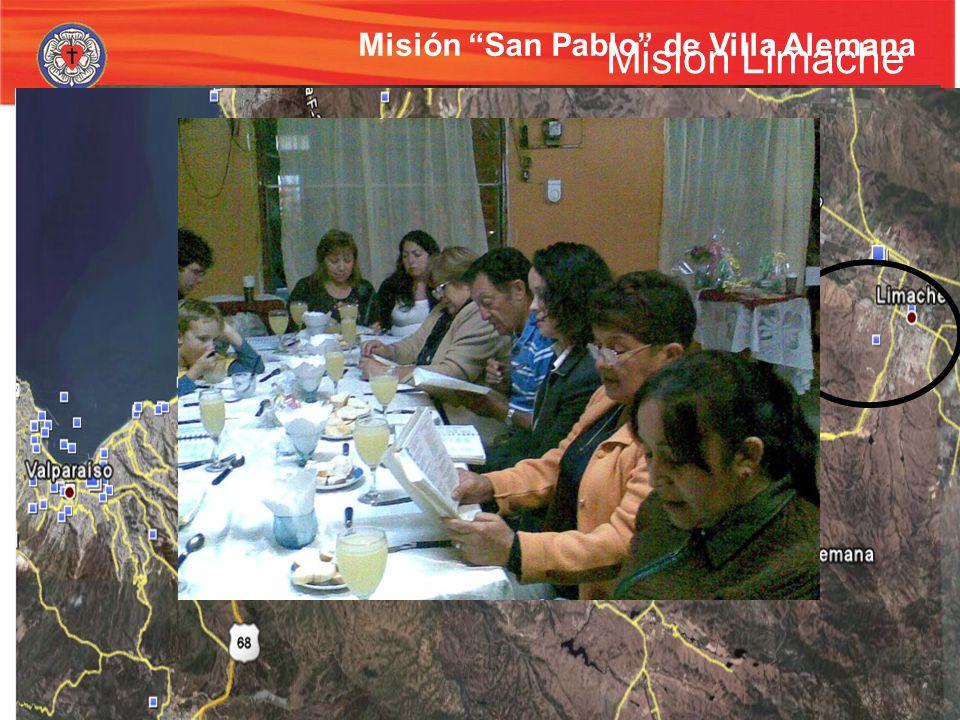 Misión San Pablo de Villa Alemana Escuela bíblica – Trabajo con niños carenciados Cultos infantiles Grupo de estudios bíblico. Se inicia con un curso