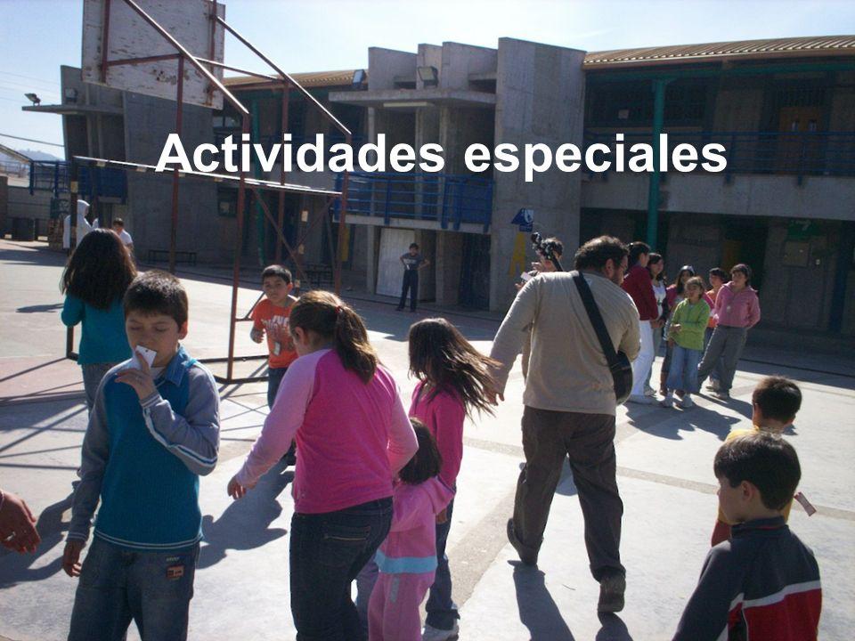 Actividades especiales