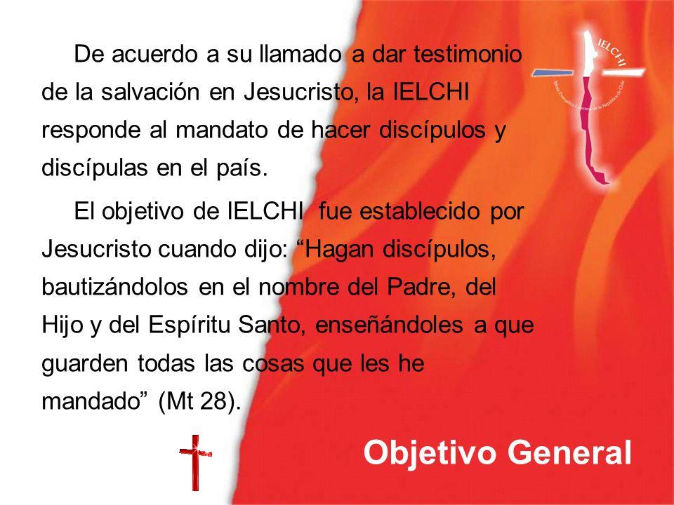 De acuerdo a su llamado a dar testimonio de la salvación en Jesucristo, la IELCHI responde al mandato de hacer discípulos y discípulas en el país. El