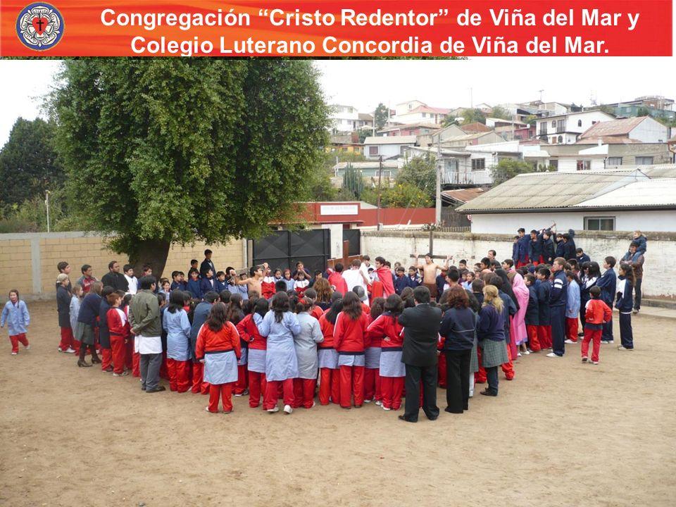 Congregación Cristo Redentor de Viña del Mar y Colegio Luterano Concordia de Viña del Mar. Trabajo con niños Visita del grupo de damas a un hogar de n