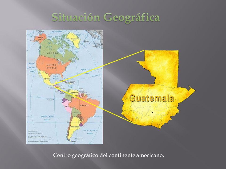 Centro geográfico del continente americano.