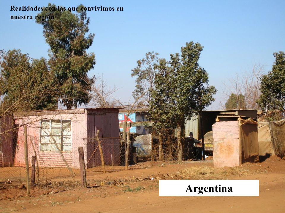 Argentina Realidades con las que convivimos en nuestra región