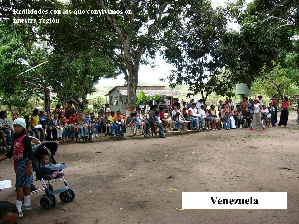 Venezuela Realidades con las que convivimos en nuestra región