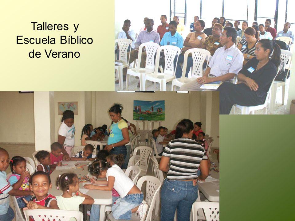 Talleres y Escuela Bíblico de Verano