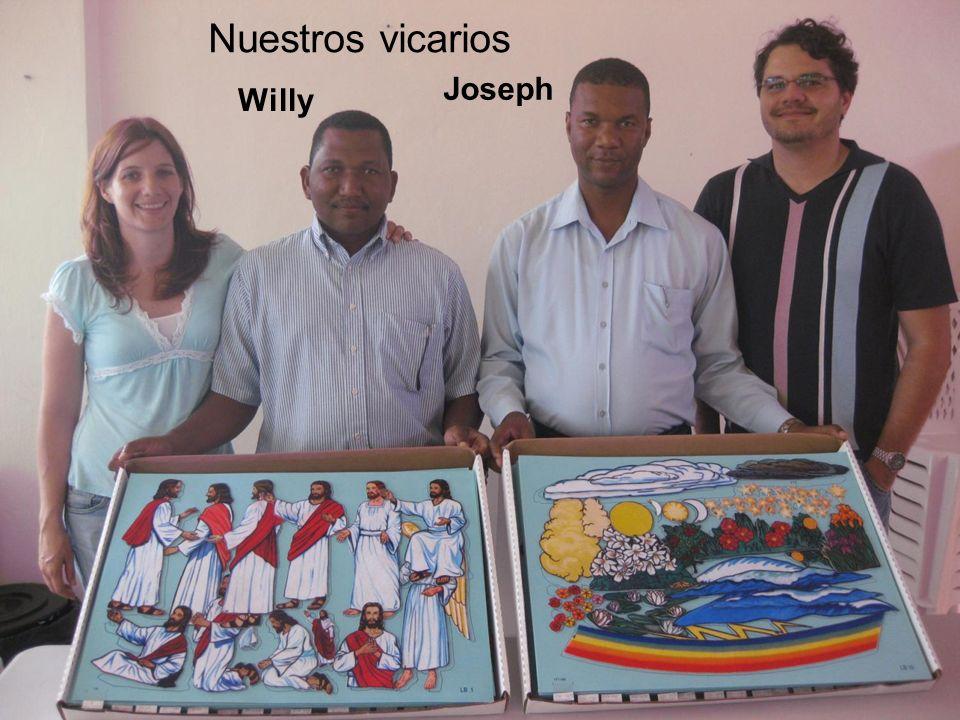 Nuestros vicarios Joseph Willy