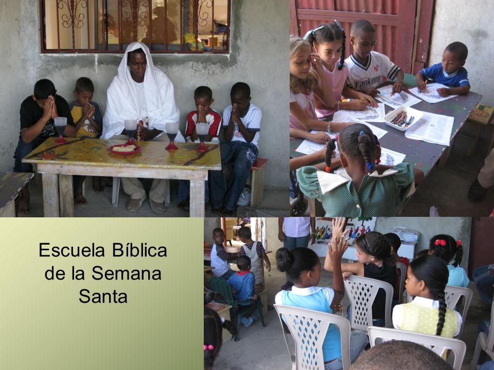 Escuela Bíblica de la Semana Santa