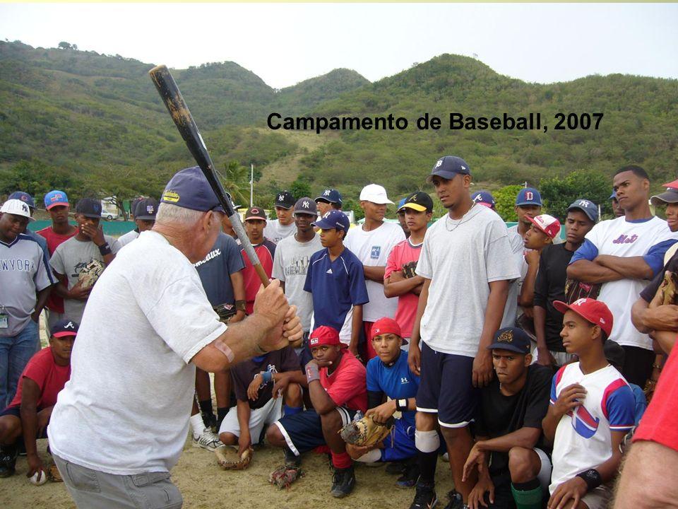 Campamento de Baseball, 2007