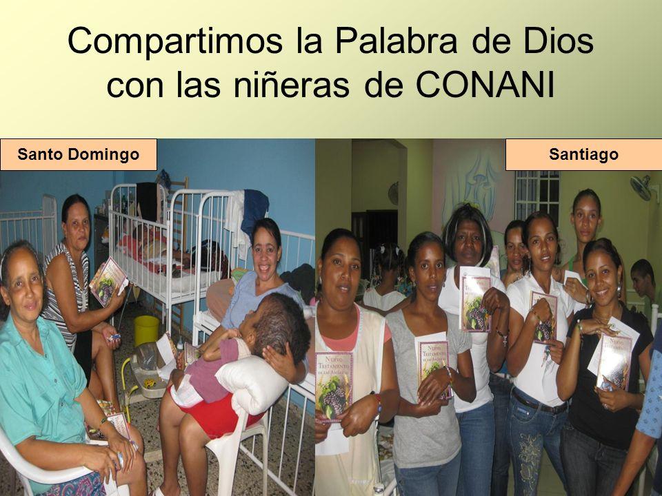 Compartimos la Palabra de Dios con las niñeras de CONANI Santo DomingoSantiago