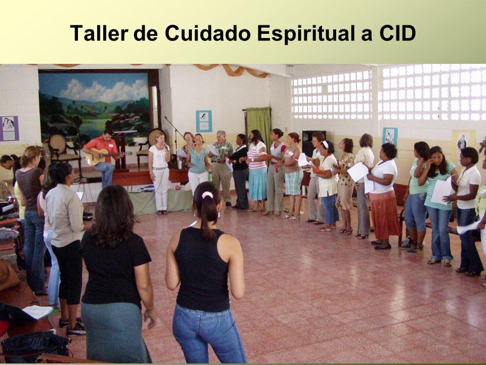 Taller de Cuidado Espiritual a CID