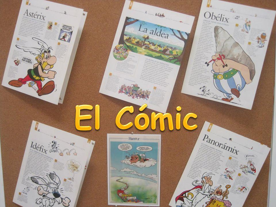 Serie o secuencia de viñetas con desarrollo narrativo Libro o revista que contiene estas viñetas