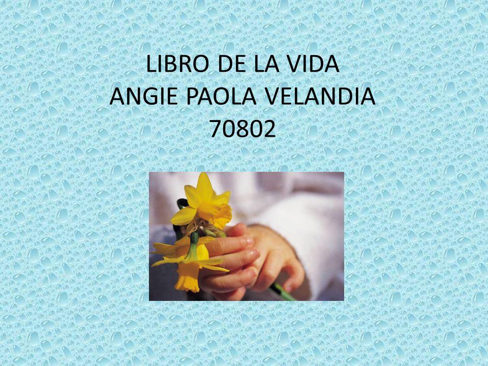LIBRO DE LA VIDA ANGIE PAOLA VELANDIA 70802