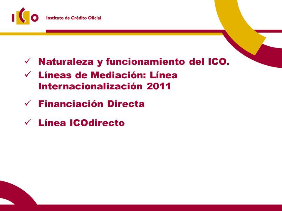Financiación Directa: Términos y condiciones (I).