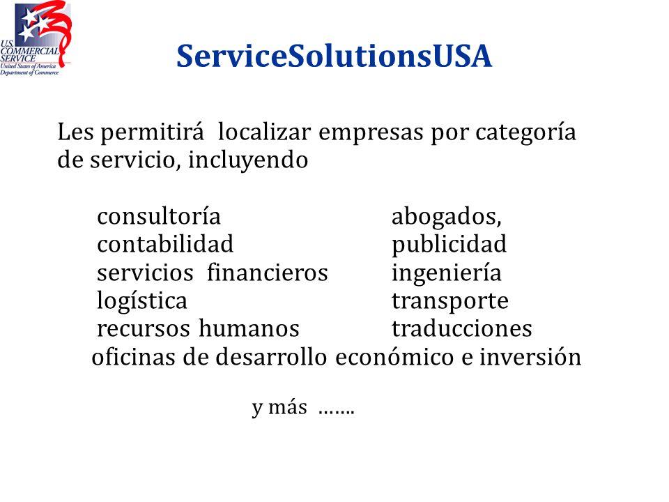 ServiceSolutionsUSA Les permitirá localizar empresas por categoría de servicio, incluyendo consultoría abogados, contabilidad publicidad servicios fin