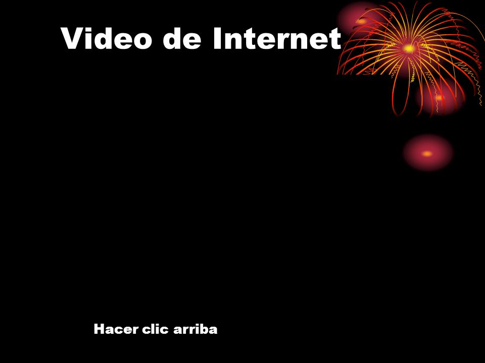 Video de Internet Hacer clic arriba