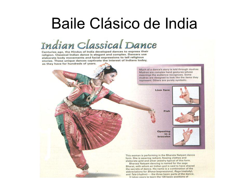 Baile Clásico de India
