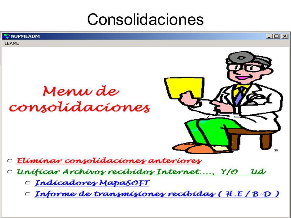 Consolidaciones
