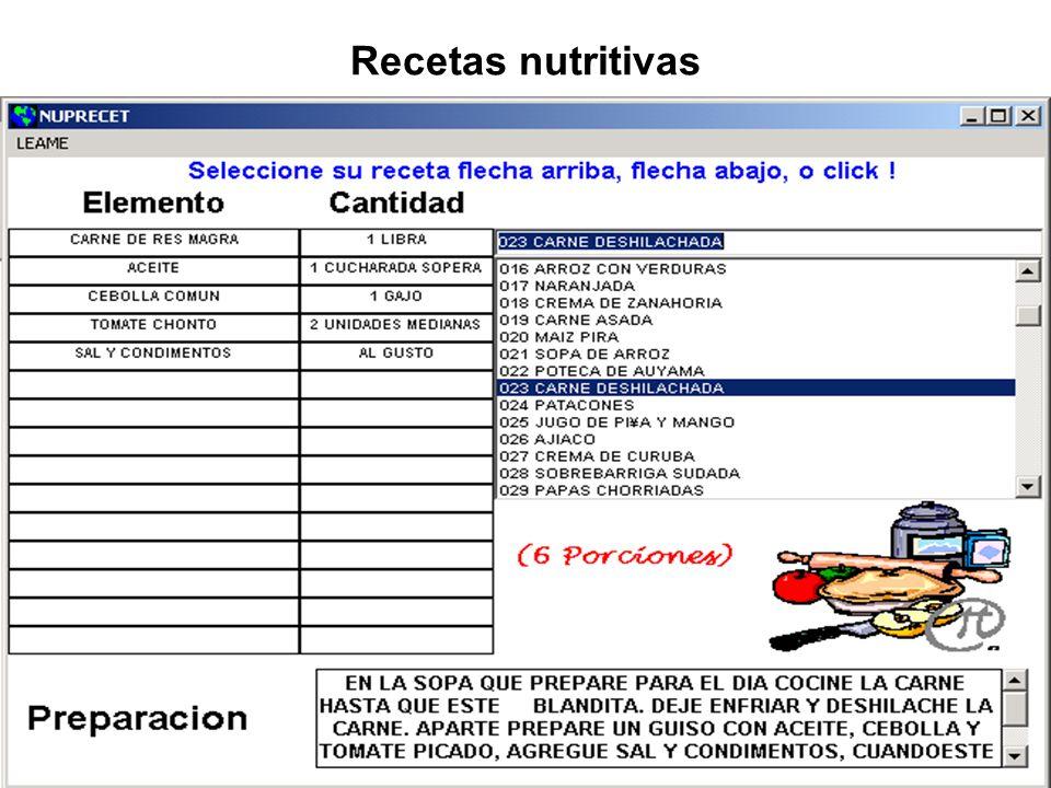 Generalidades de nutrientes