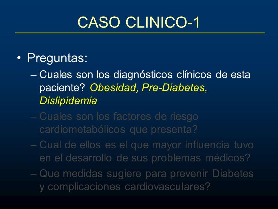 Preguntas: –Cuales son los diagnósticos clínicos de esta paciente.