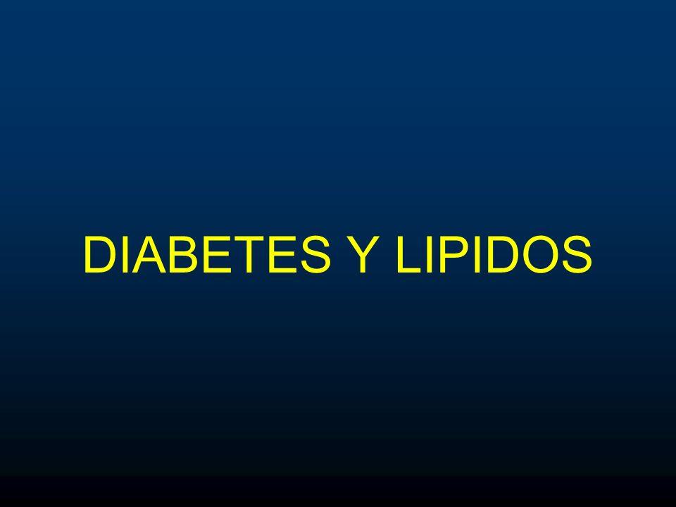 DIABETES Y LIPIDOS