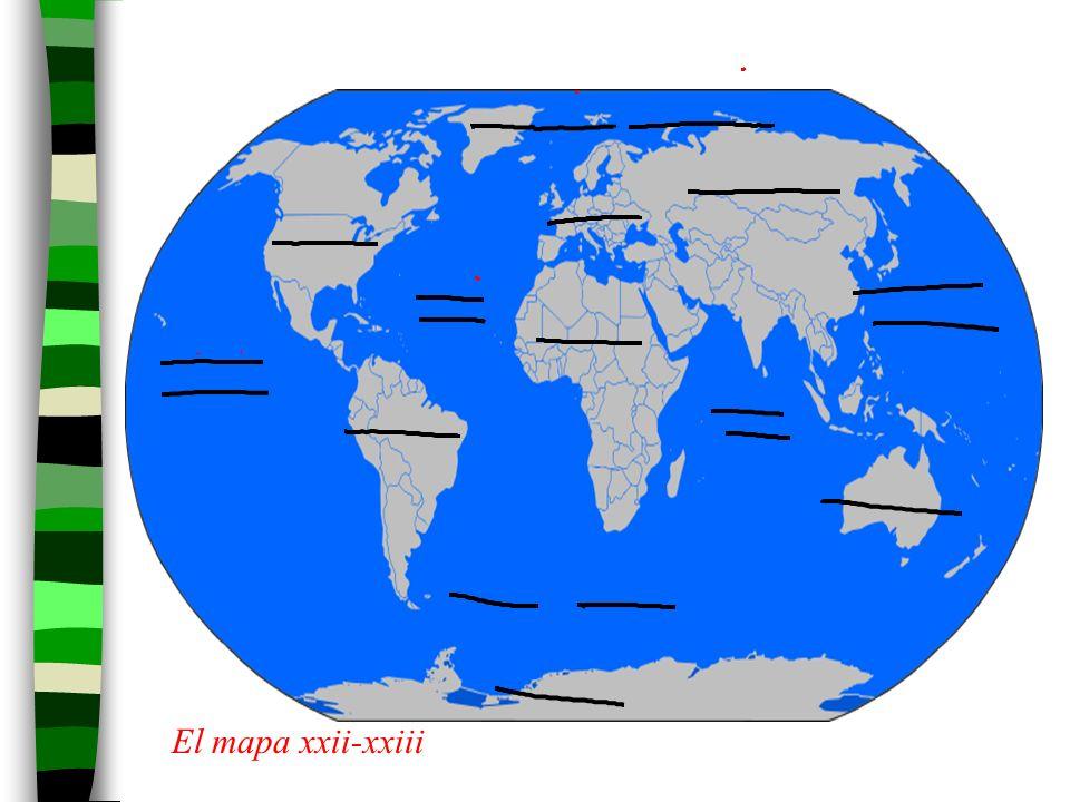 El mapa xxii-xxiii