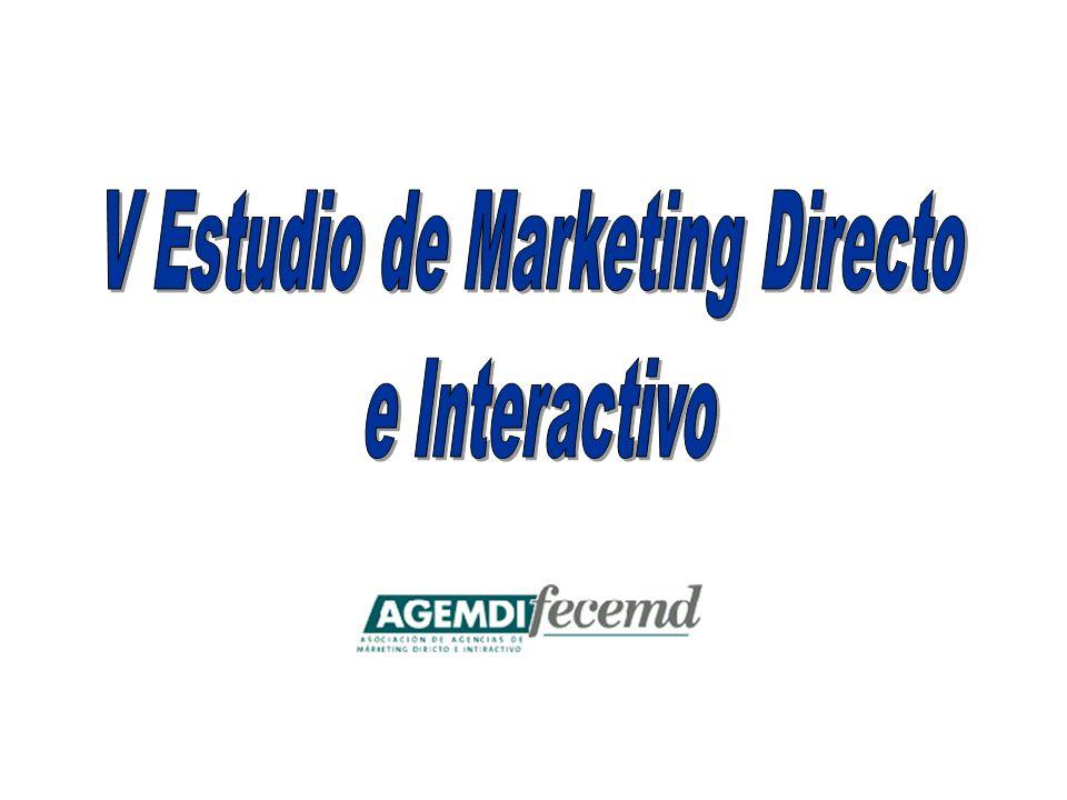 En la mayoría de los casos (65.5%) el Departamento de Compras permanece ajeno en la decisión a la hora de asignar las diferentes cuentas tanto de Marketing Directo como de Marketing Interactivo.
