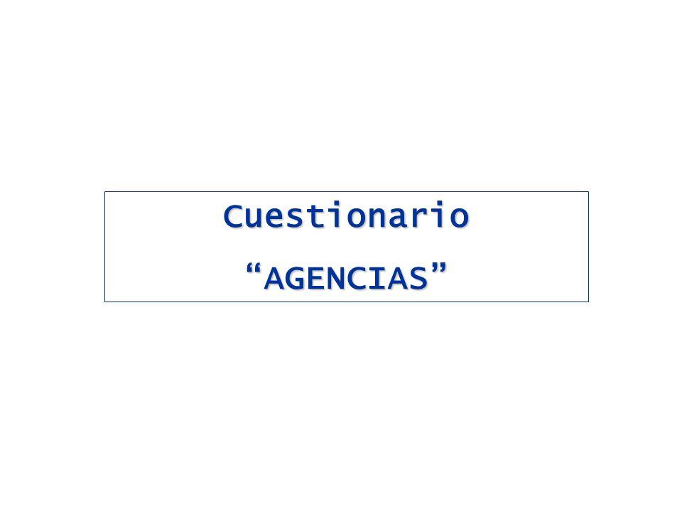 CuestionarioAGENCIAS
