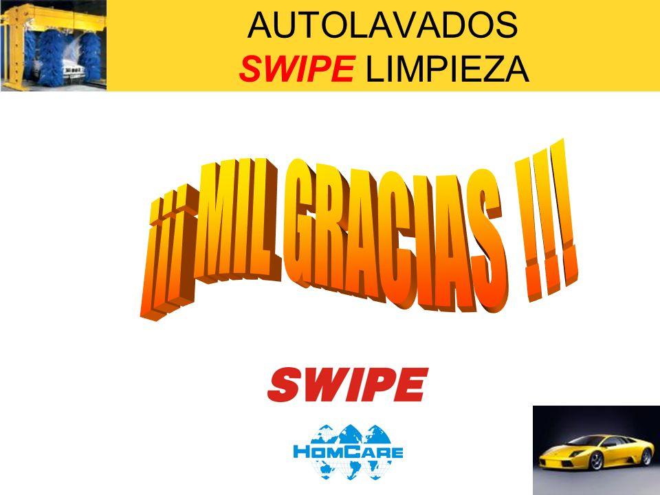AUTOLAVADOS SWIPE LIMPIEZA