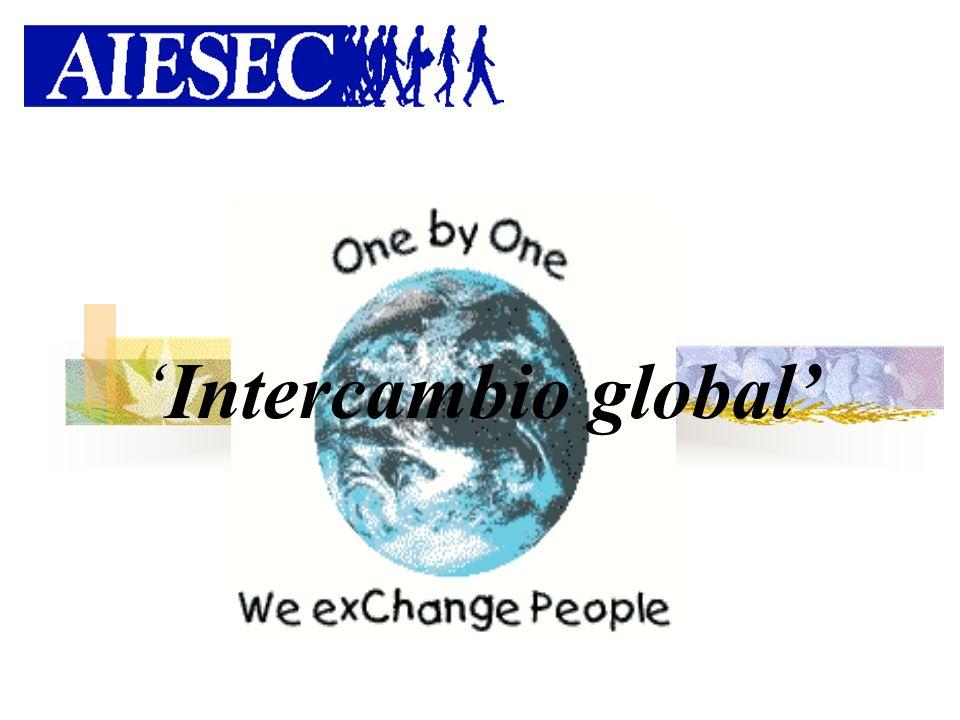 La Organización Fundada en 1948 Actualmente en 85 países Sin fines de lucro Trabajando en más de 800 universidades Dirigida completamente por estudiantes VISION: